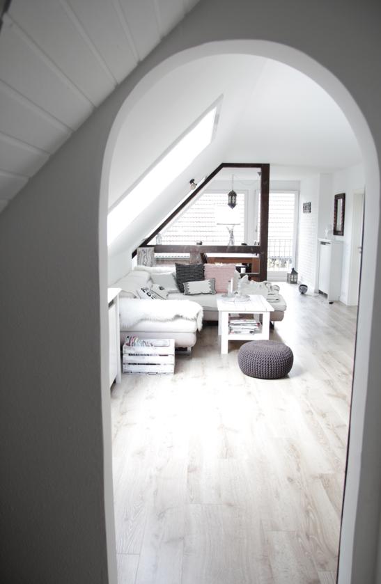 wohnung renovieren: vorher nachher ? design dots - Dachwohnung Im Skandinavischen Stil