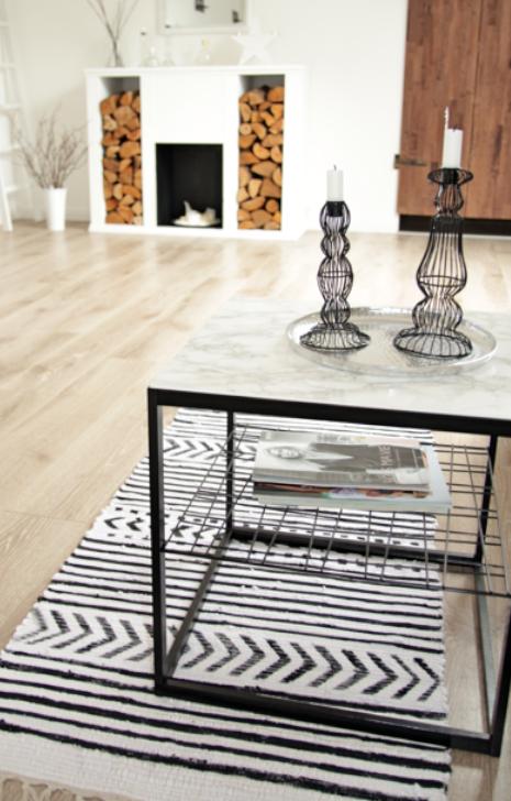 teppich mit textilfarbe bemalen design dots. Black Bedroom Furniture Sets. Home Design Ideas