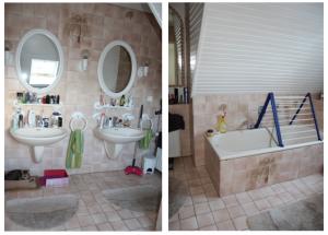 badezimmer renovieren bild VORHER NACHHER