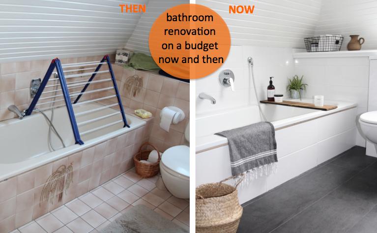 Badezimmer renovieren günstig vorher nachher
