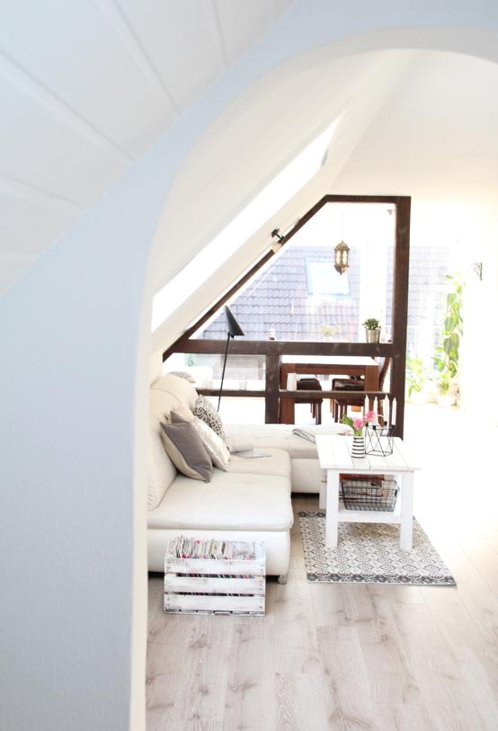 Dachgeschosswohnung Einrichten Ideen Design Dots