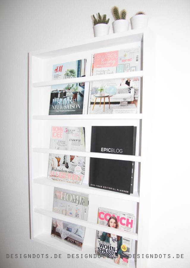 Zeitschriftenregal DIY