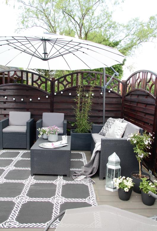 Unsere neue diy terrasse design dots for Ideen fur kleine terrassen