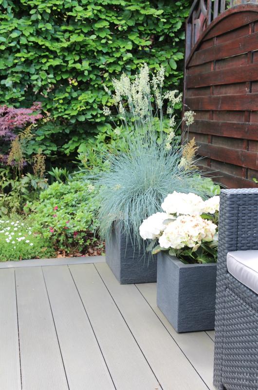 Sichtschutz Terrasse Garten Gunstig Design Dots