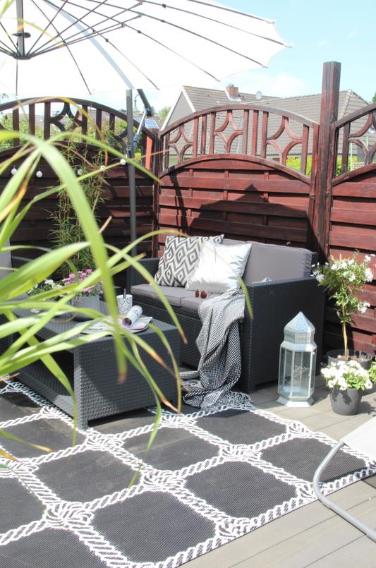 unsere neue diy terrasse design dots On terrasse gunstig gestalten