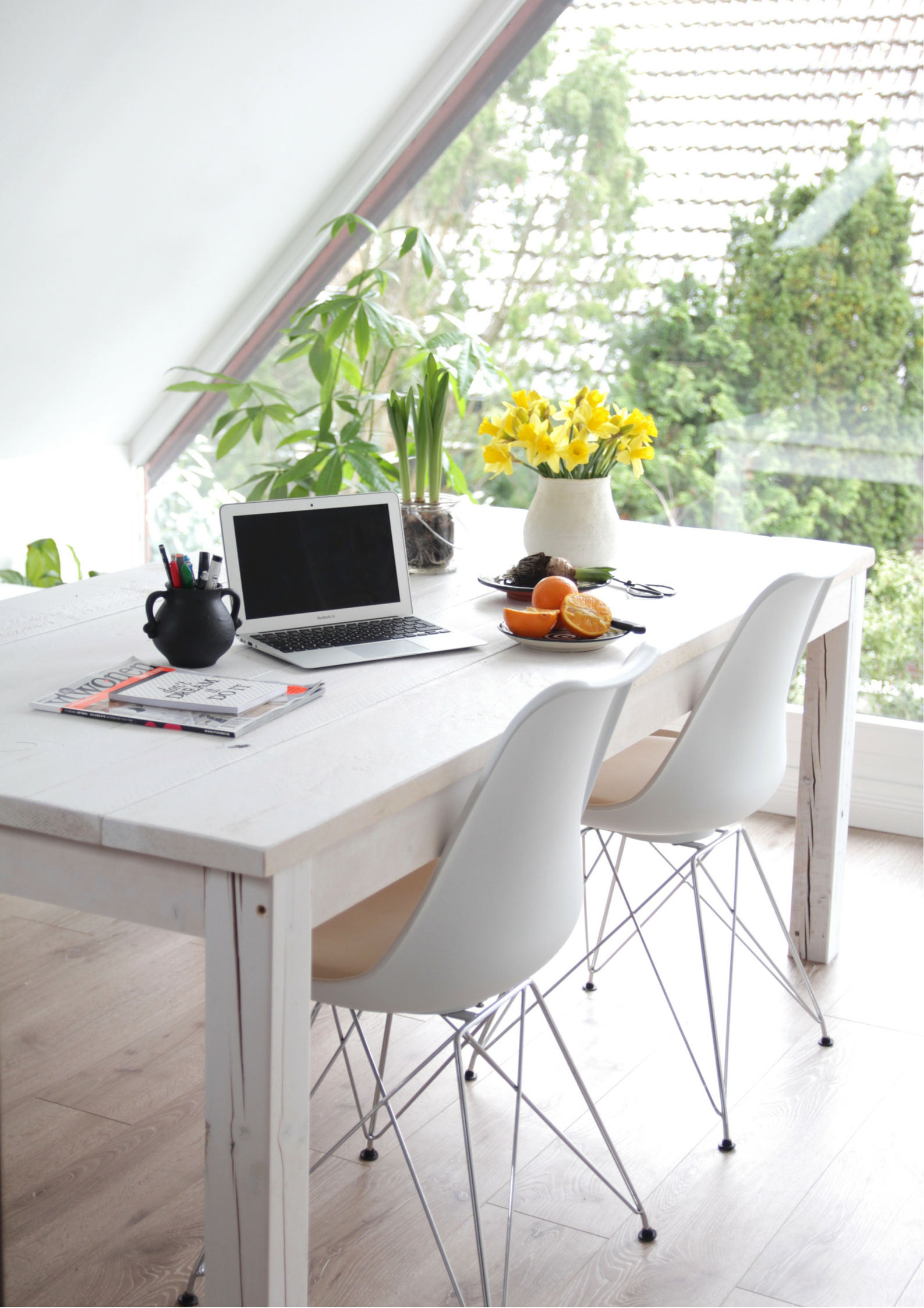 Dachgeschosswohnung Einrichten Design Dots