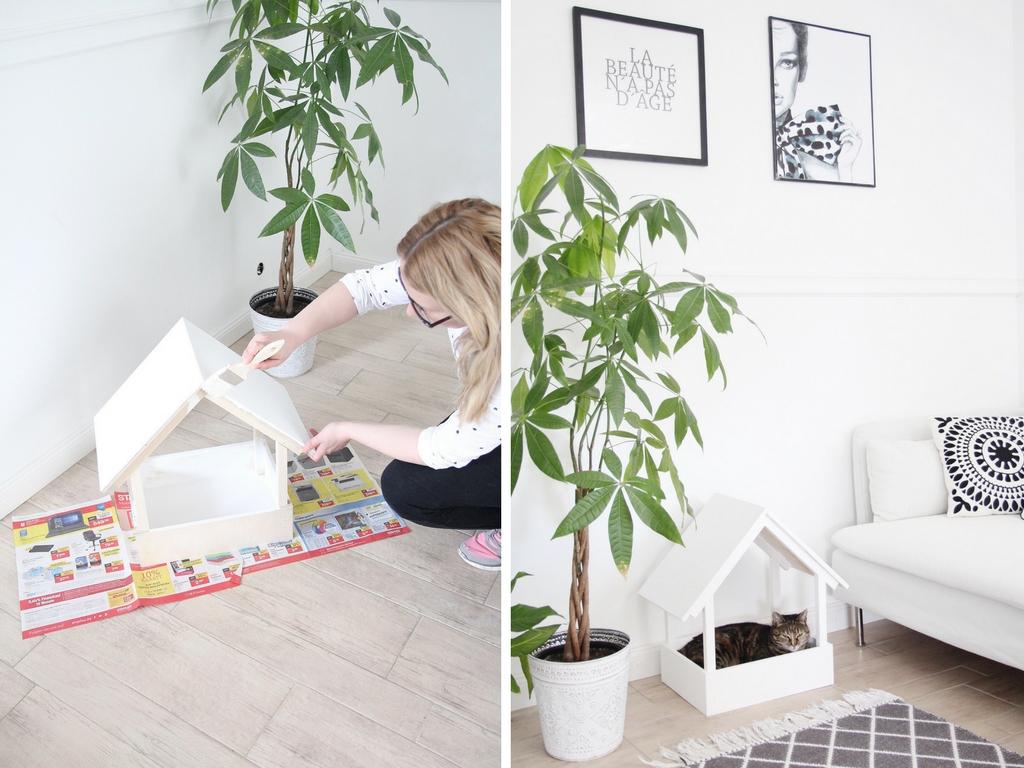 diy stillvolles katzenbett selbst bauen – design dots, Gartenarbeit ideen