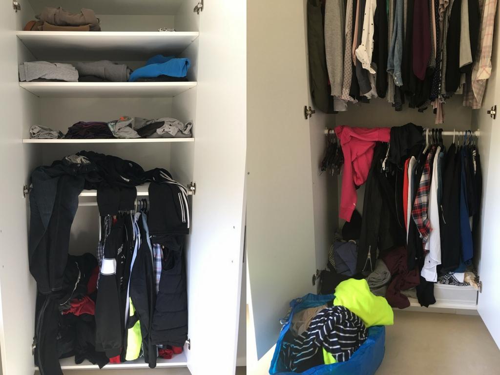 Aufräumen Vorher Nachher ordnung im kleiderschrank 5 tipps für mehr ordnung design dots