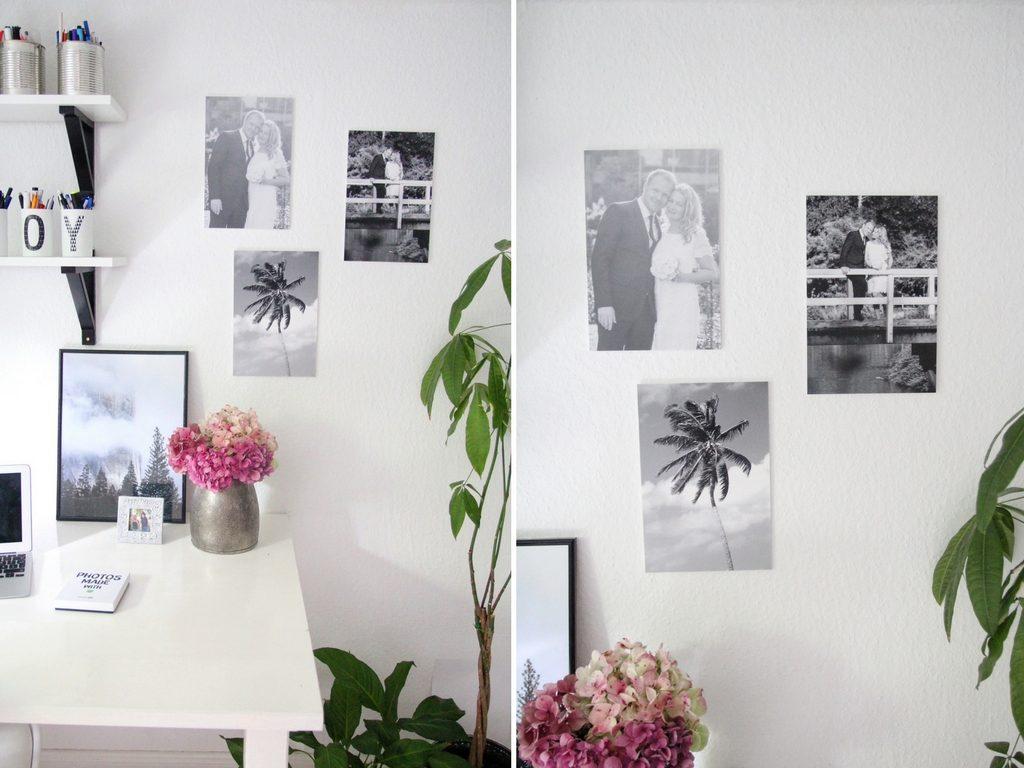 Ihr Könnt Die Poster Auch Mit Washitape An Der Wand Befestigen! Ich Habe  Noch Mehrere Leere Wände Im Haus, Die Idee Setze Ich Irgendwann Um!;)