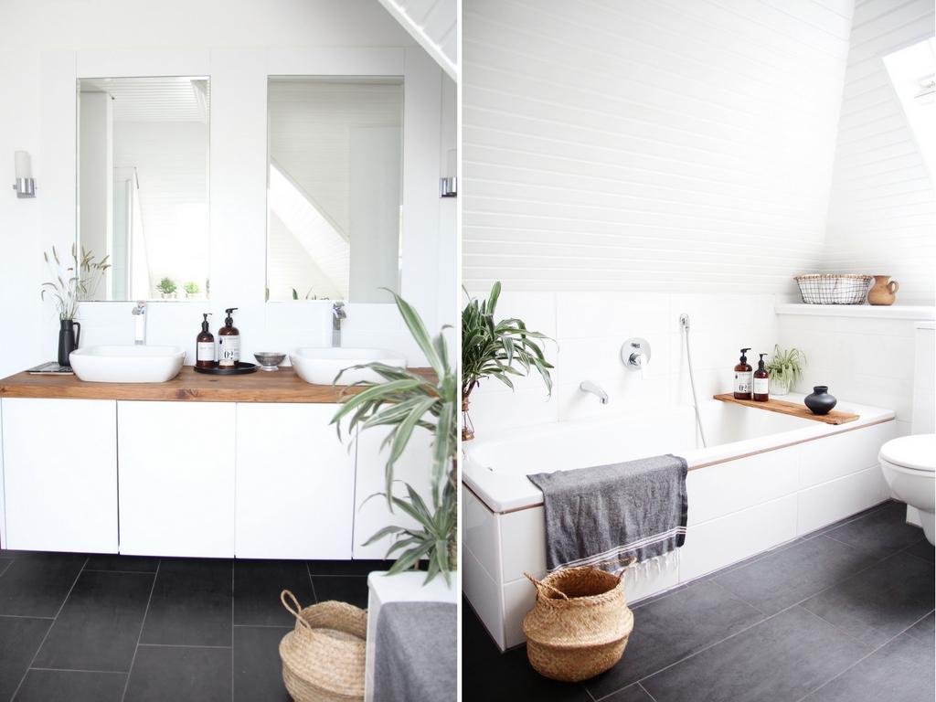 Badezimmer Skandinavisch