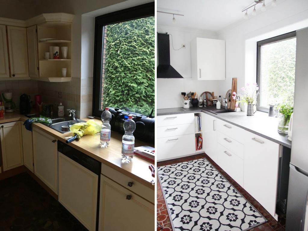 küche-renovieren-vorher-nachher - DESIGN DOTS
