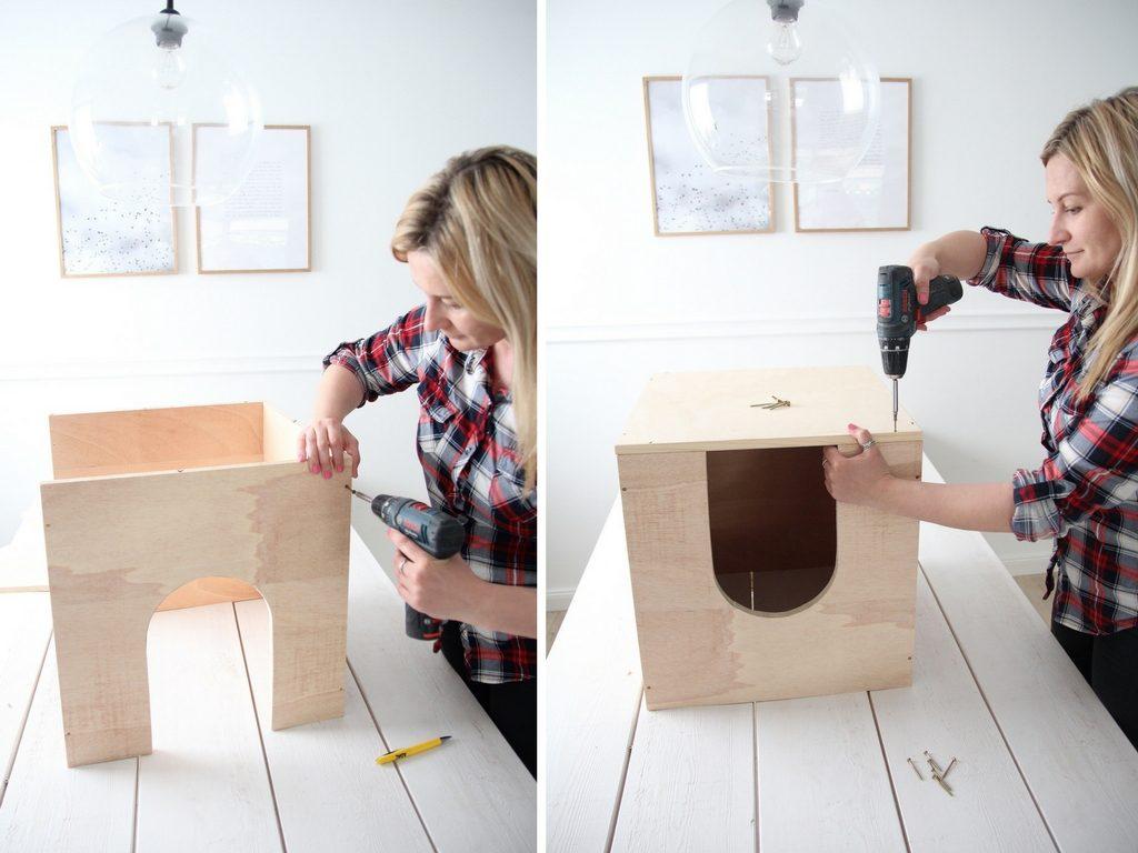 gemütliche katzenhöhle selbst bauen – design dots