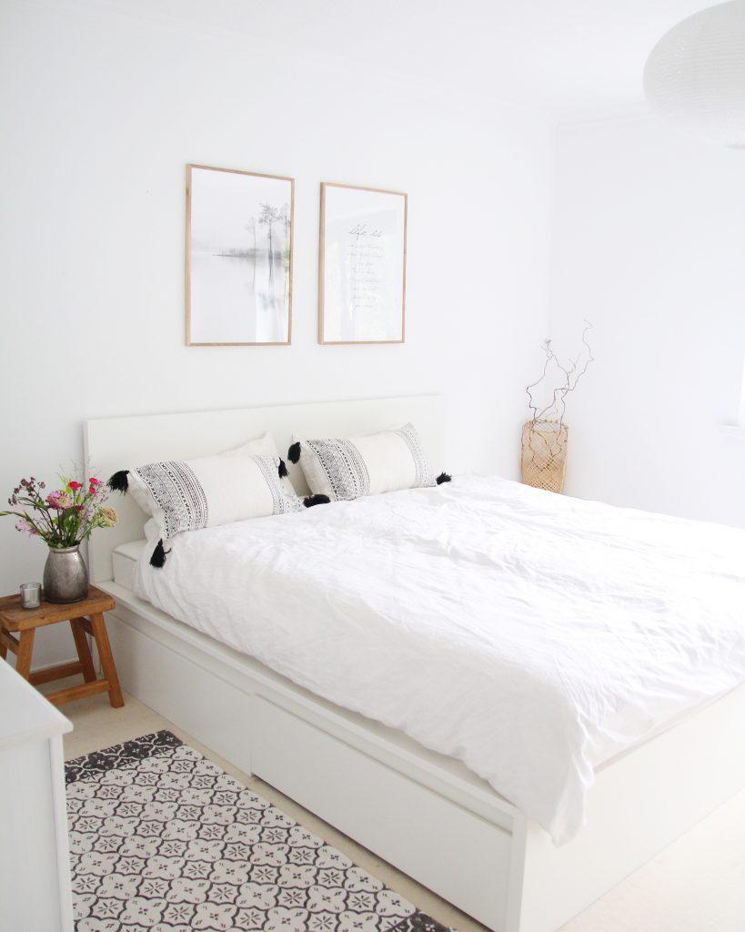 Schlafzimmer Skandinavisch Einrichten Design Dots
